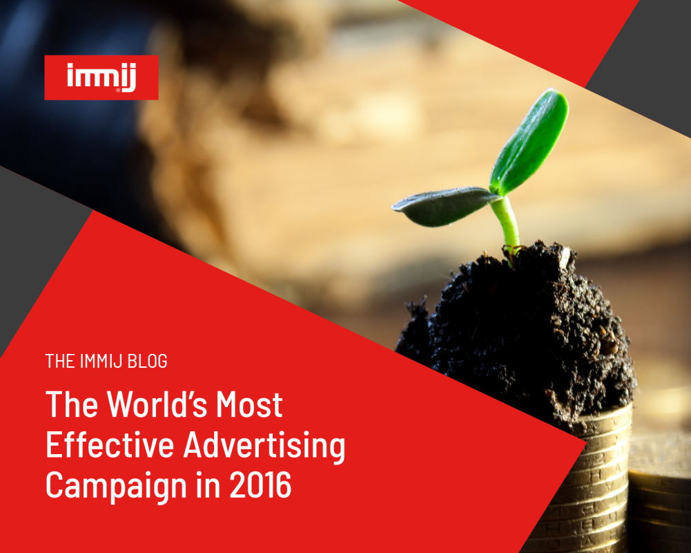 The World's Most Effective Advertising Campaign in 2016