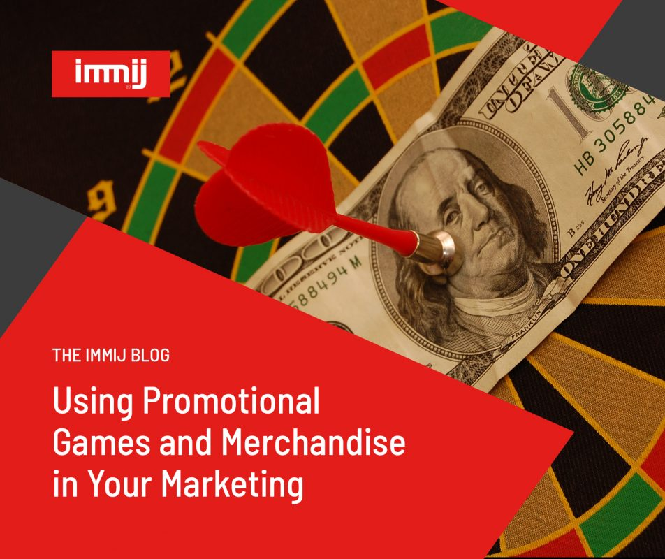 Using Promotional Games and Merchandise in your Marketing