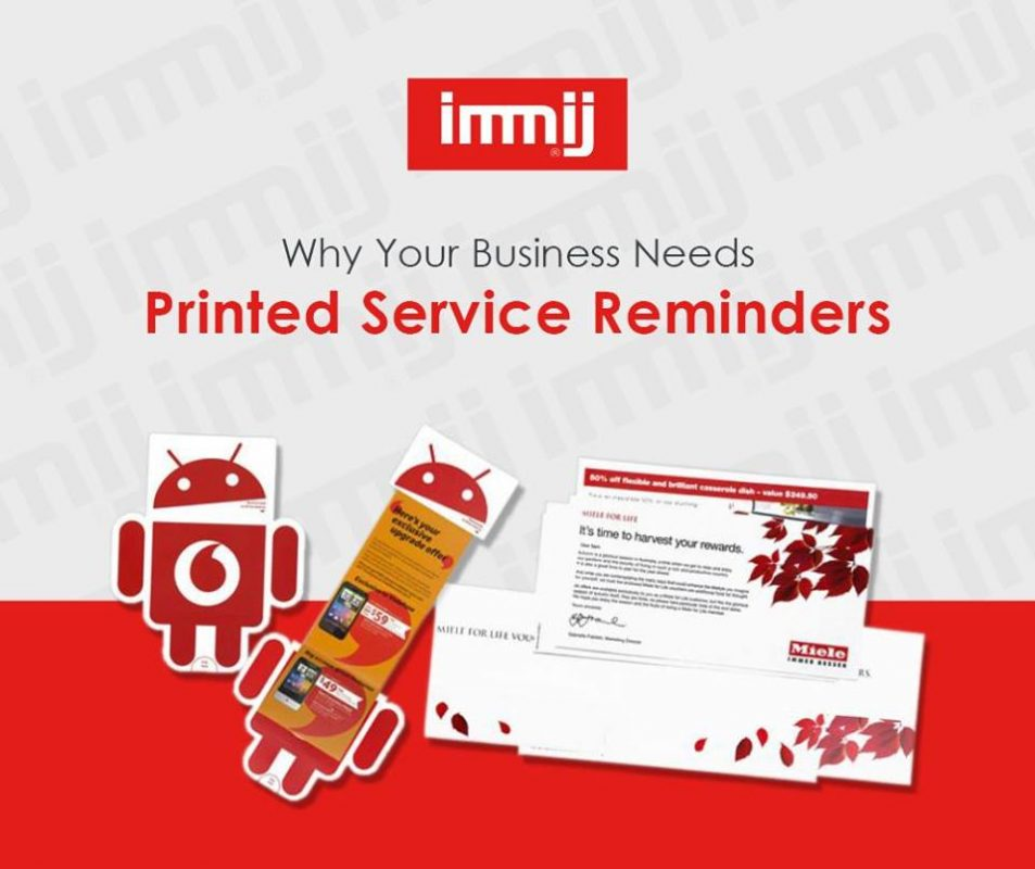 Why Your Business Needs Printed Service Reminders