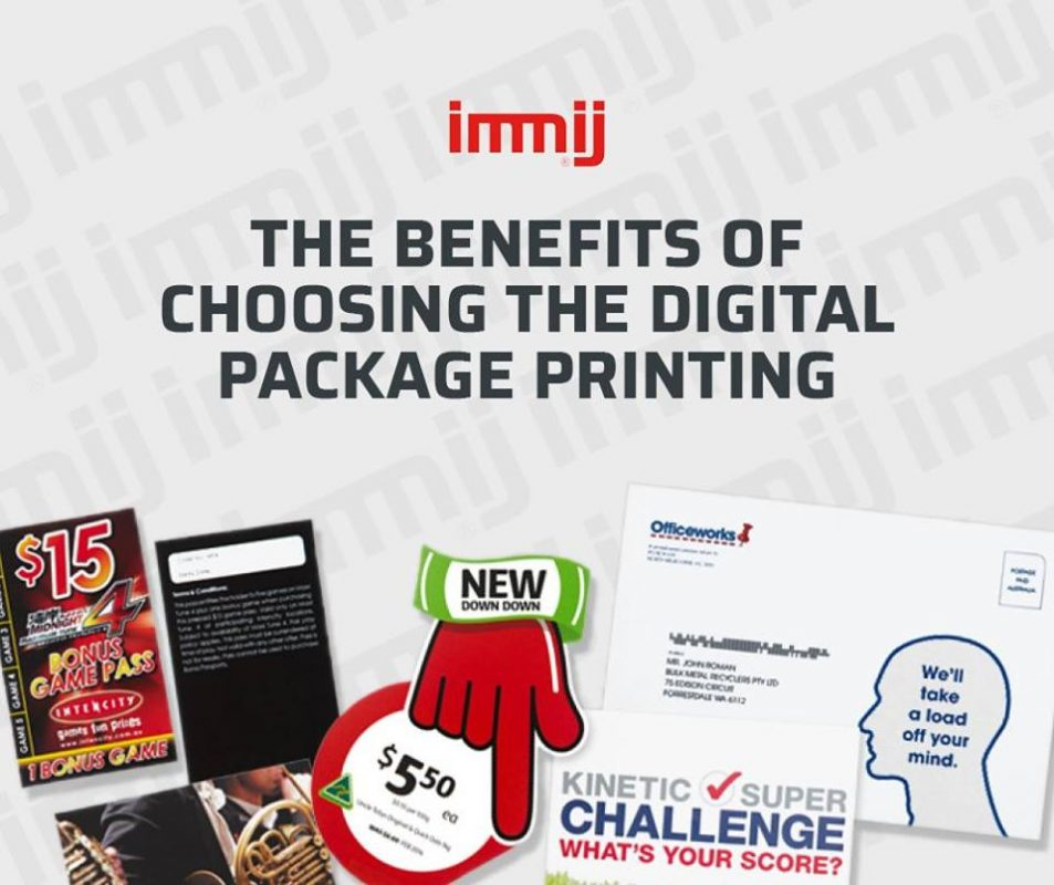 The Benefits of Choosing the Digital Package Printing