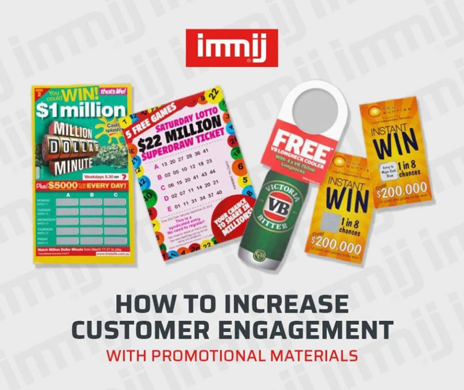 How to Increase Customer Engagement with Promotional Materials: