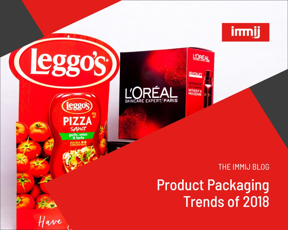 Product Packaging Trends of 2018