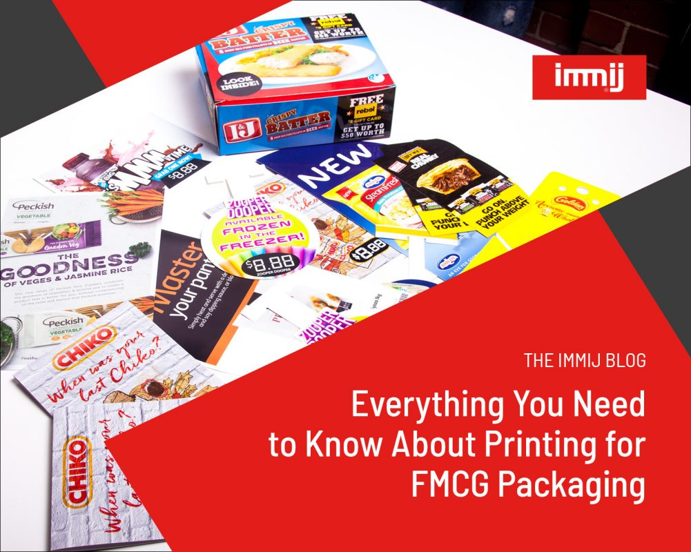 Everything Your Need To Know About Printing for FMCG Packaging