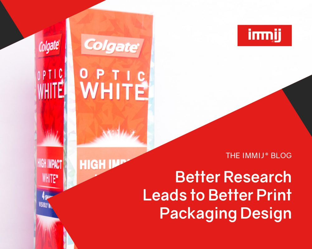 Better Research Leads to Better Print Packaging Design