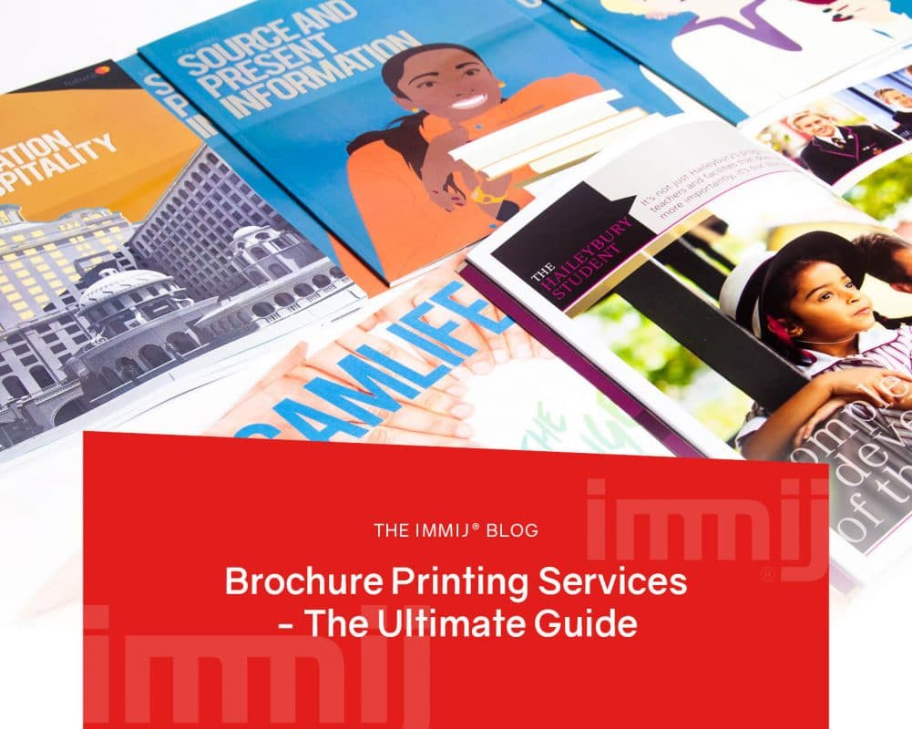 Brochure Printing Services - the Ultimate Guide